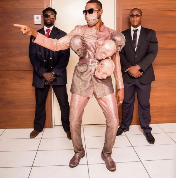 Do You Think This Omashola's Dressing To AMVCA Is Enough To Save Him From Coronavirus? (SEE HERE) 2