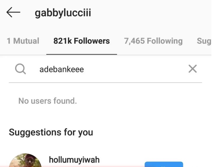 Gabriel Afolayan and wife unfollow each other on Instagram amidst cheating rumours 3