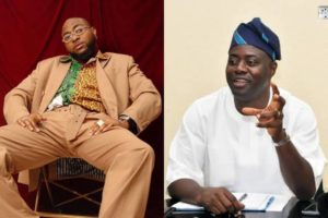 """Davido should redo the coronavirus test again"" – Nigerians react after Governor Makinde tested positive for the virus 1"