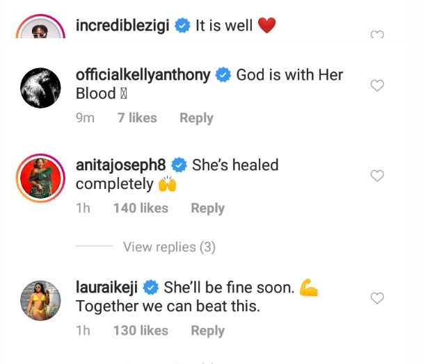 See How Toyin Abraham, Others Are Reacting To Davido's Wife, Chioma, Contracting Coronavirus 5