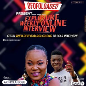 An Exclusive Interview By Ofofoloaded With Nollywood Yoruba Actress, Akinola Bose (FULL GISTS) 1