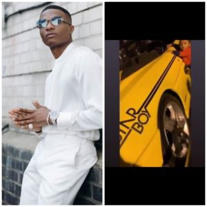 JUST IN: Wizkid Buys A Customized STARBOY  Car (Photo + Video) 1