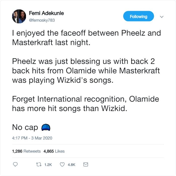 OLAMIDE Has More Hit Songs Than WIZKID – Do You Agree? (See This) 2