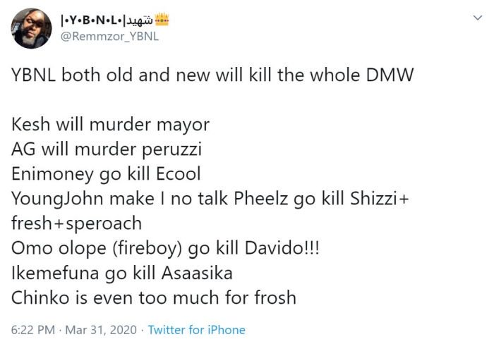"""YBNL vs DMW – Which Record Label Do You Think Will Win When It's Come To """"Number Of Hit Songs"""" (Read This) 3"""