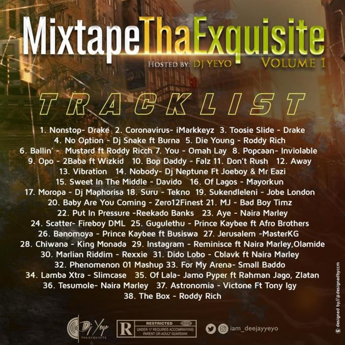 Mixtape Tha Exquisite (Hosted By Dj Yeyo) 2