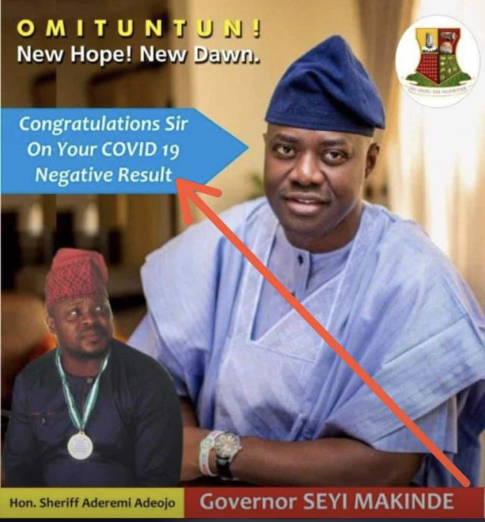 WTF!! See What Some Oyo State Politicians Posted Online After Gov. Seyi Makinde Recovered From Coronavirus 😂😂 2