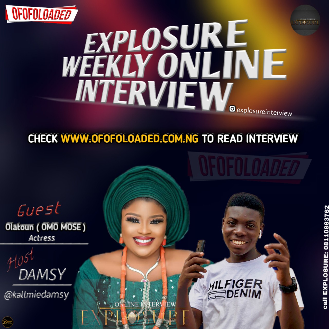 An Exclusive Interview With Fast Rising Nollywood Actress, Olaotun Olanrewaju, Popularly known As Omo Mose(Read Full Interview)