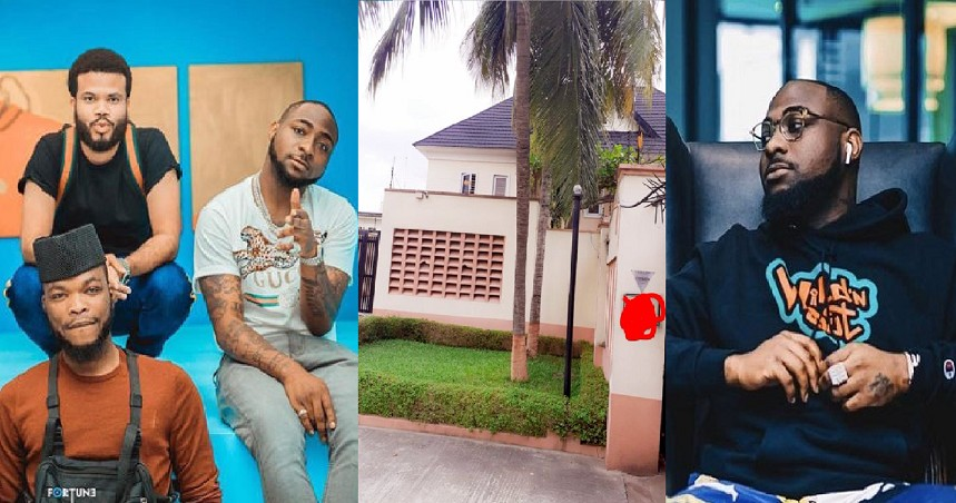 """""""Turned my MEN into LANDLORDS IN LEKKI!!!"""" – Davido reveals he just bought a house for his staff (See Photo)"""