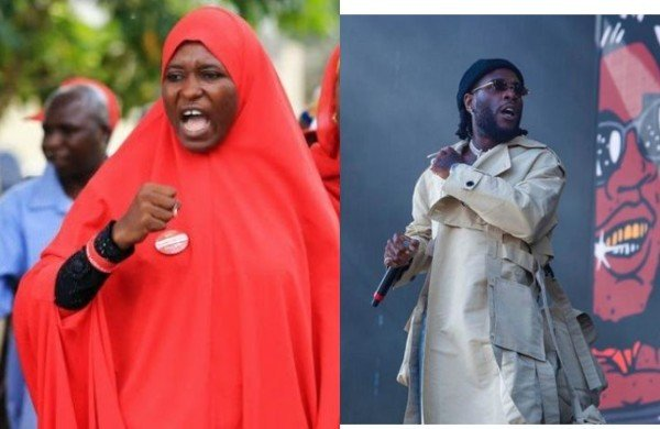Any Celebrity That Messes Up Will Be Called Out, If You Have A Problem With It Take A Dive Anywhere – Activist, Aisha Yesufu Slams Burna Boy