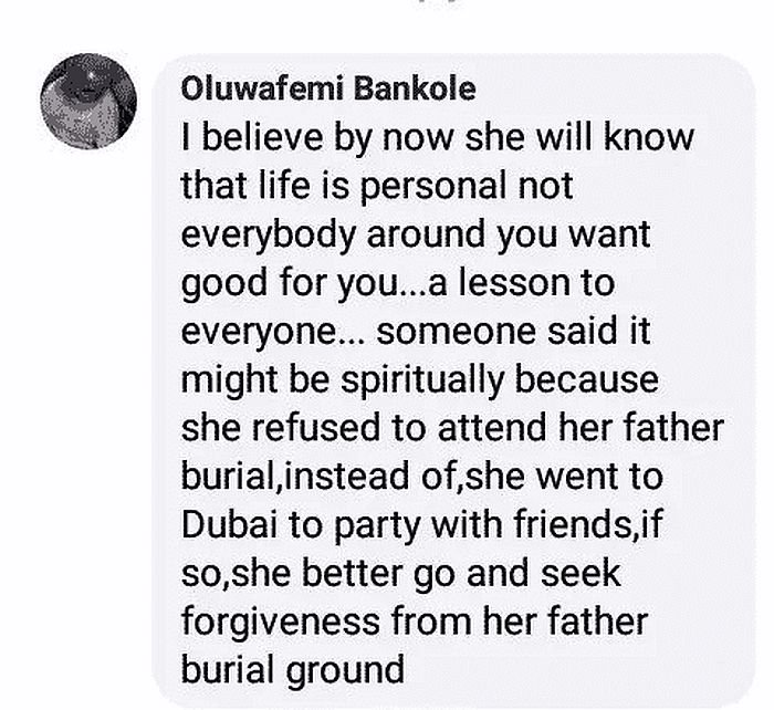 """""""Funke Akindele Is Suffering The Consequence Of Not Attending Her Late Father's Burial"""" – Man Claims 2"""