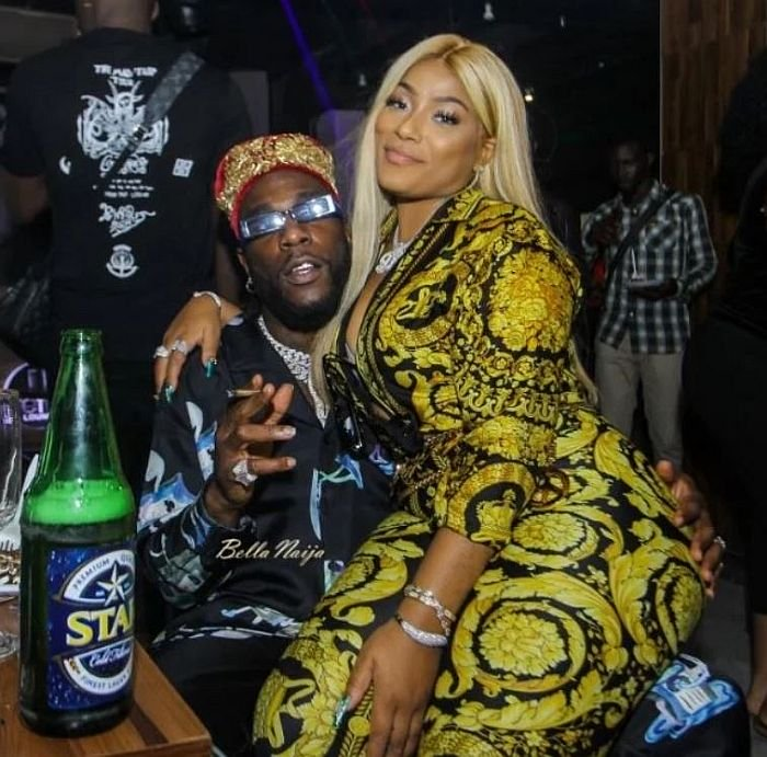 Burna Boy Reveals Reason He Wouldn't Have A Child Soon With British Lover, Stefflon Don
