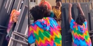 Niniola stops sister, Teni from entering her house over coronavirus fears (Video) 1