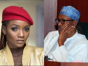 Simi Asks President Buhari One Major Question (See Full Details) 1