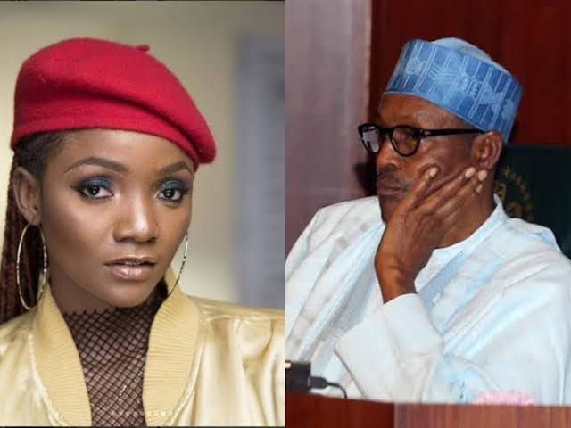 Simi Asks President Buhari One Major Question (See Full Details)