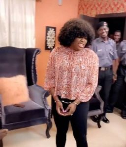 Coronavirus: See Photo Of Funke Akindele In Handcuffs 3