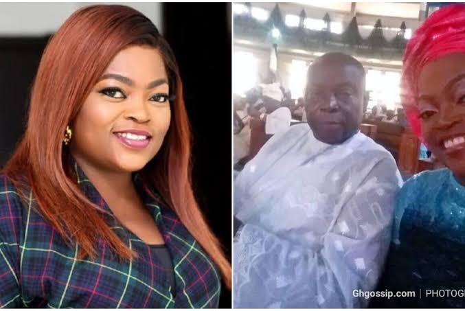 """""""Funke Akindele Is Suffering The Consequence Of Not Attending Her Late Father's Burial"""" – Man Claims"""