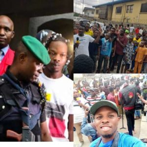 Naira Marley Fans Stormed Court In Support Of Singer Despite Lockdown Order (Photos) 1