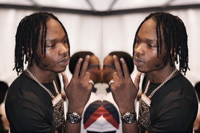 See What Naira Marley Used To Chases Out White Lady From His Instagram Live Chat (Video)