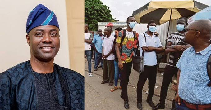 Wearing of face mask now compulsory in Oyo – Gov. Makinde