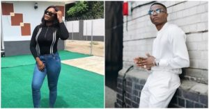 Wizkid is the only man I can spread my legs for - Staunch female fan says, Nigerians react 1