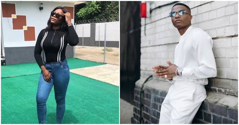 Wizkid is the only man I can spread my legs for – Staunch female fan says, Nigerians react