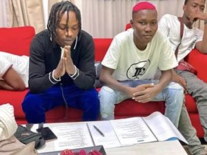 Lockdown: If You Can't Feed A Hundred People, Feed Just One? Naira Marley Tells Fans 1