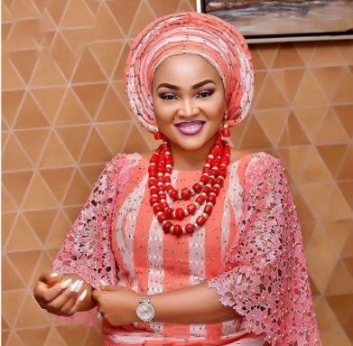 Lockdown: Mercy Aigbe Shows Off Massive Weight Gain (Photo)