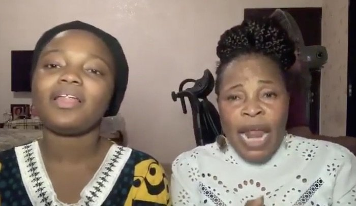Gospel Singer, Tope Alabi And Her Daughter Lend Their Beautiful Voice To Talk About Coronavirus With A Short Song