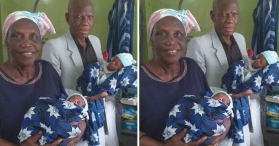 WOW!! 68-Year-Old Woman Delivers Twins At LUTH (Photo)