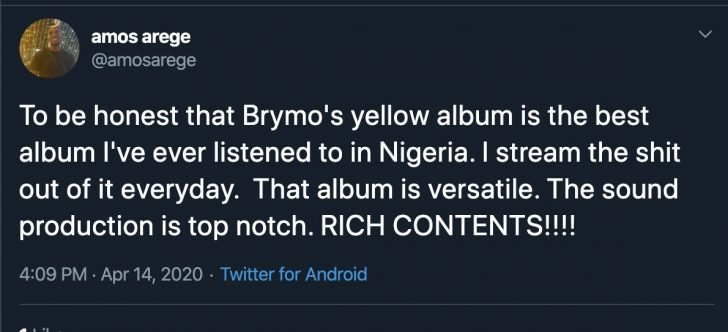 LET'S TALK! With The Release Of Brymo's 7th Studio Album, Is He Better Than Wizkid? 5