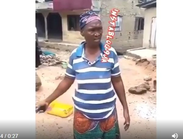 This Abeokuta Old Woman Willing To Take Pr!ck For N500 To Feed Her Kids Is The Saddest Thing On Internet Today (WATCH VIDEO)