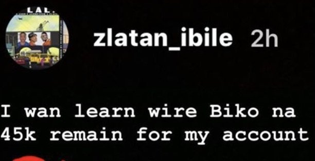 Seems Zlatan Is Almost Broke Oo! – See How Much He Has Left In His Account (Photo) 2