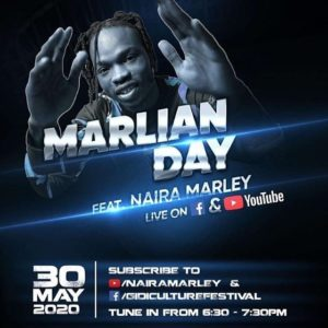 Watch Live: Naira Marley's MARLIAN DAY Concert {Stream Now} 1