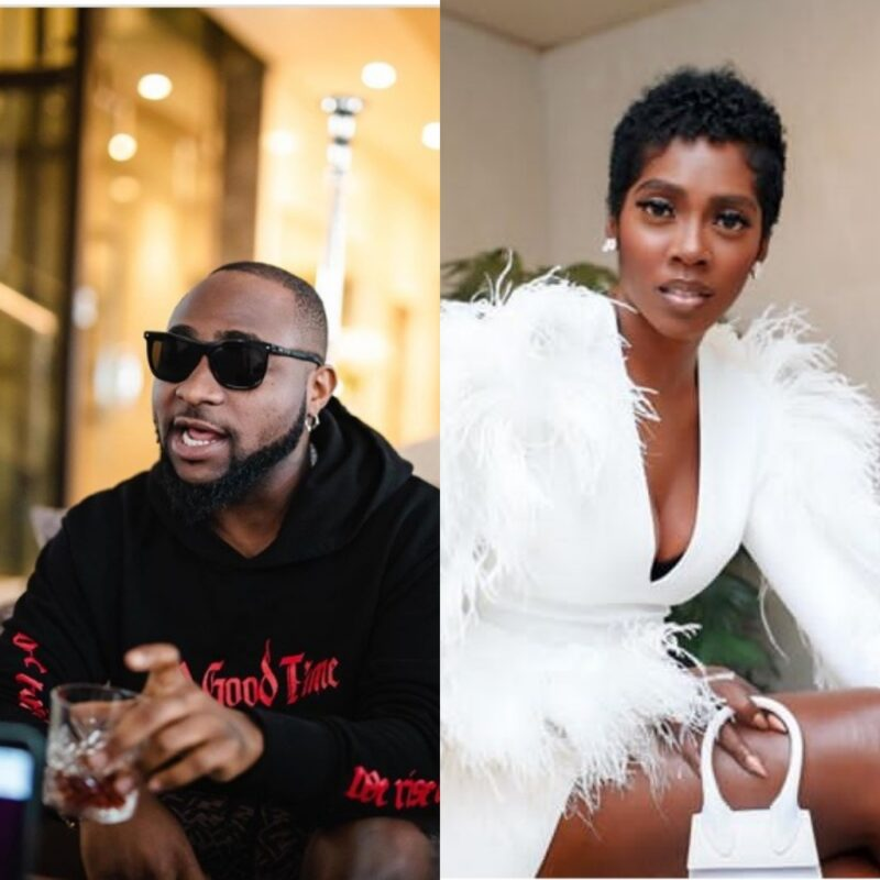 It's Official!!! Davido Features Tiwa Savage On A Track For The First Time 1