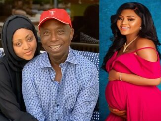 Regina Daniels Finally Welcomes Baby, It's A Boy 17