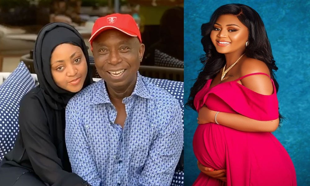 Regina Daniels Finally Welcomes Baby, It's A Boy min