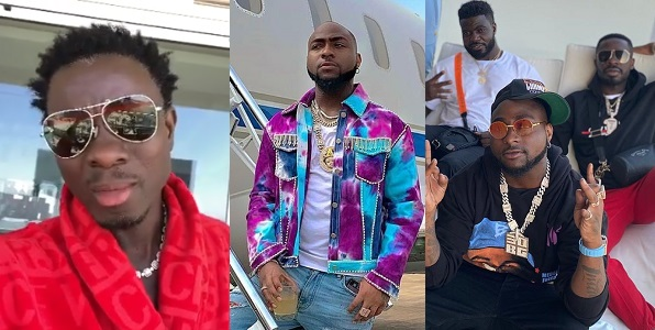"'I Am Nigerian""- Davido's response after Michael Blackson asked how he crossed the borders to the US 1"
