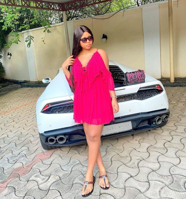'Did You Even Give Birth?' – Fan Asks Regina Daniels After She Posted This Photo On Her IG 2