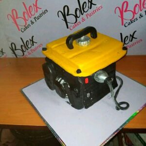 Meet Prince Obua: A Nigerian Man From Rivers State Ikwere Local Government Area Craft Cake Like A Generator. 7