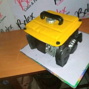 Meet Prince Obua: A Nigerian Man From Rivers State Ikwere Local Government Area Craft Cake Like A Generator. 3