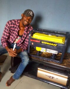 Meet Prince Obua: A Nigerian Man From Rivers State Ikwere Local Government Area Craft Cake Like A Generator. 13