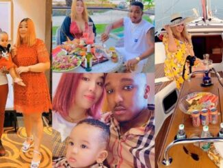 Big boy who married a Chinese lady celebrates birthday with beautiful family photos 34