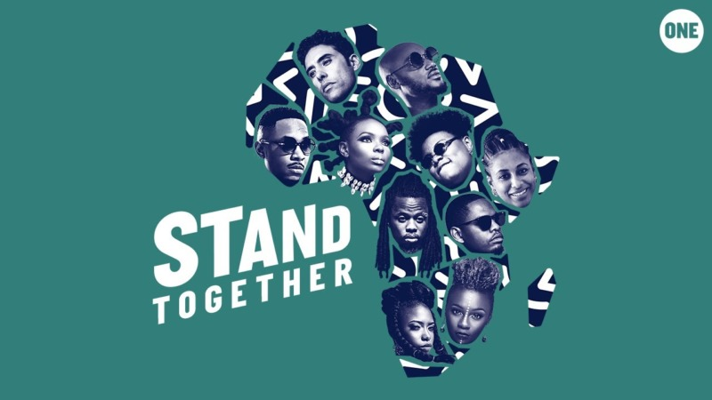 2Baba, Yemi Alade, Teni & More – Stand Together (Prod by Cobhams Asuquo) min