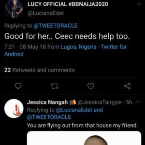 Internet Doesn't Forget; BBNaija Lucy's 2019 Post Shading Mercy & Tacha Pops Up 4