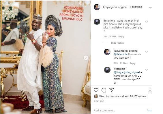 Divorce About To Happen? Actress, Lizzy Anjorin Puts Up Newlywed Husband For Sale 2