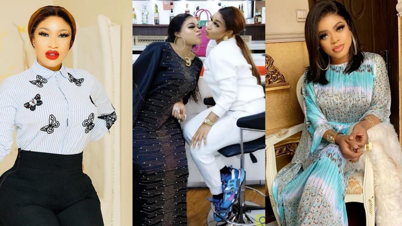 """I Promise To Be Loyal To U Till Death Do Us Path"" – Bobrisky Tells Tonto Dikeh 1"