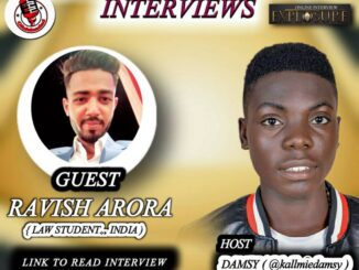 An Explosure Online Interviews By Ofofoloaded With An Indian Law Student, Ravish Arora (Read Full Interview) 1