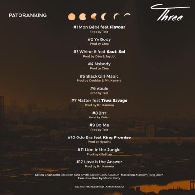 Patoranking – Love Is The Answer min