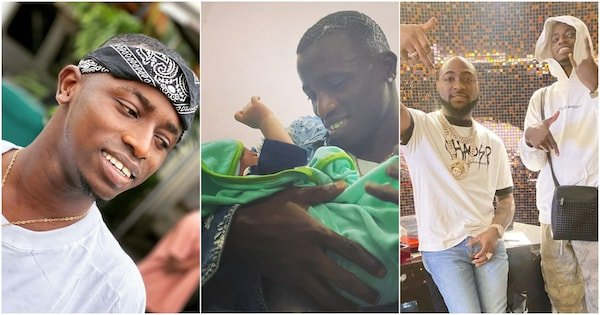 Davido SNUBS His PA, Aloma DMW After He Named His Newborn Son After Davido min