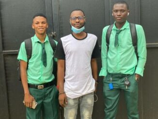 MAD OO!!! SS3 Boys Resume School With Iphone And Benz After Making Money During Lockdown (Watch Video) 9